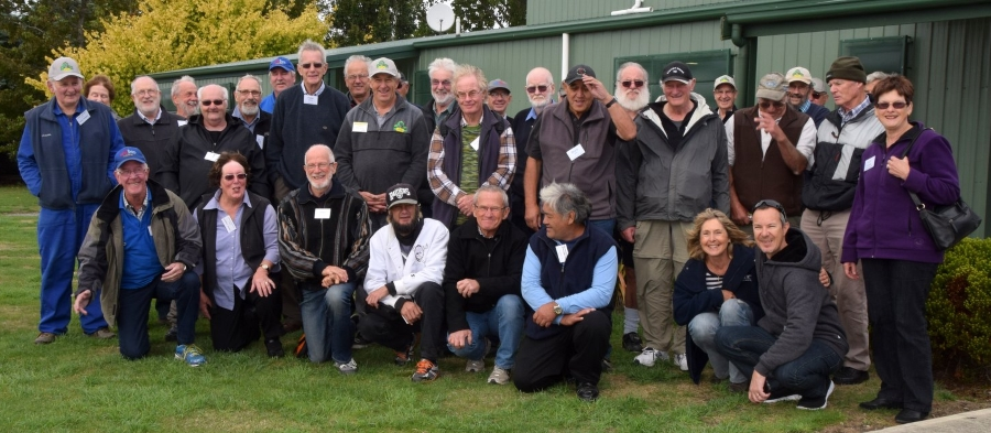 AGM and Sheddies Ramble 2015 attendees - Photo by Bruce Levy