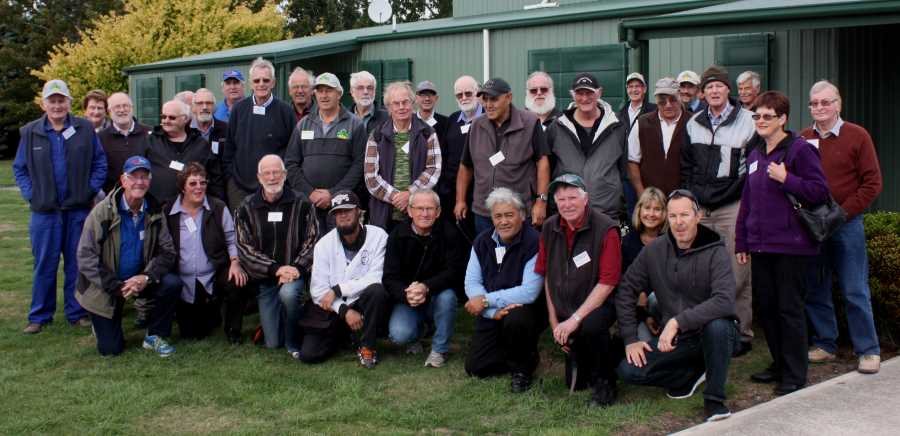 AGM and Sheddies Ramble 2015 attendees - Photo by Kevin Ball