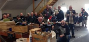 Time for a cuppa at the Bishopdale MeNZ Shed