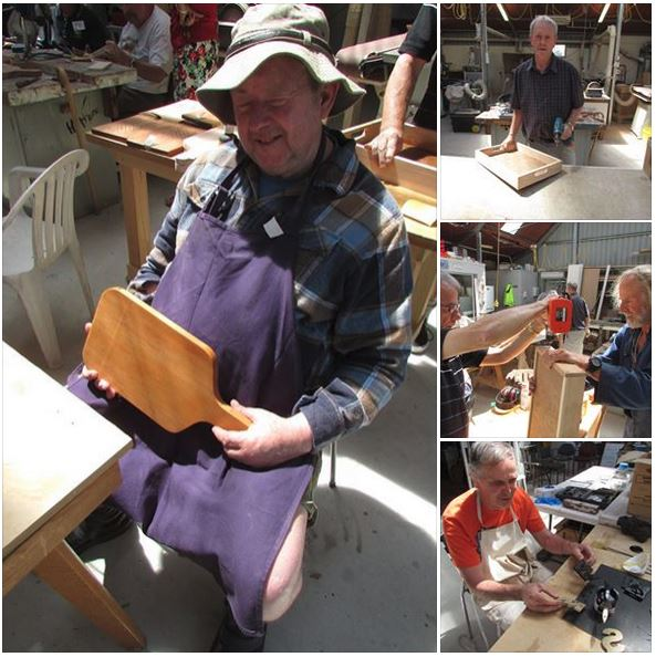 One of our highlights each week is to work with people who struggle to express their creative side due to a disability.