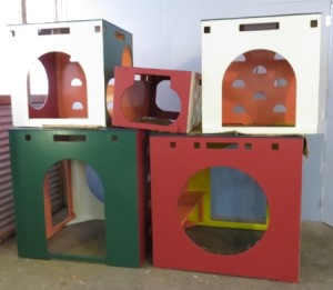 Play equipment renovation