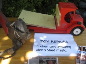 Toys waiting repair