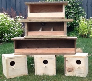 Another project - nesting boxes
