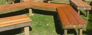 Benches for the Places of Tranquillity garden