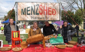 Halswell Menzshed demonstrating their creativity