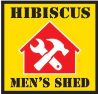 Hibiscus mens shed logo