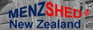 Menzshed NZ logo with trademark red 300x97